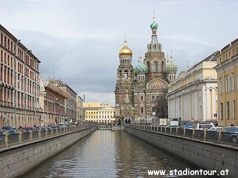 Sankt petersburg und moskau russland